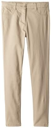 Nautica Stretch Five-Pocket Sateen Pants Girl's Casual Pants