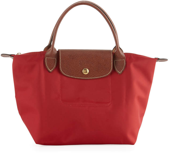 Longchamp Le Pliage Small Handbag, Red - RED - STYLE