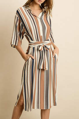 dress forum Stripe Midi Dress