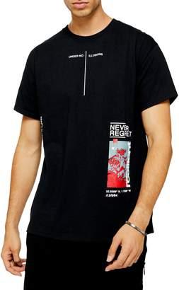 Topman Oversized Illusions T-Shirt