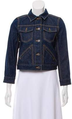Marc Jacobs Fitted Denim Jacket w/ Tags