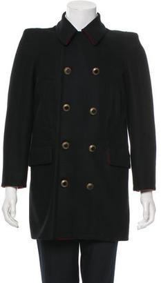 Jean Paul Gaultier Knee Length Wool Coat $195 thestylecure.com