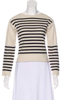 Celine Cashmere Striped Sweater