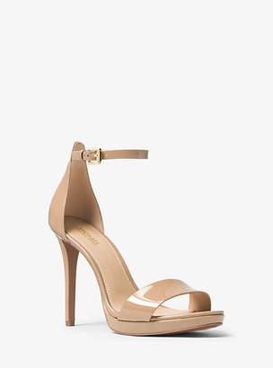 Michael Kors Hutton Patent Leather Sandal