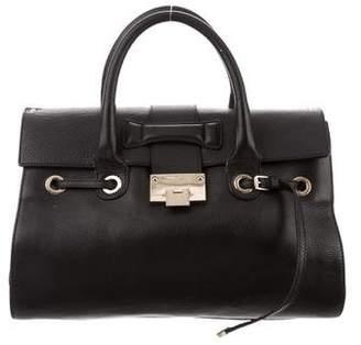 Jimmy Choo Rosalie Leather Satchel