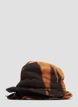 Garbage Tv Sleep It Off Double Padded Bucket Hat in Brown