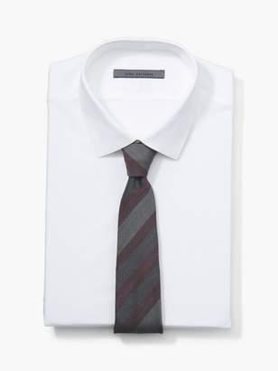 John Varvatos Diagonal Striped Tie