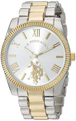 U.S. Polo Assn. Women's Quartz Stainless Steel and Alloy Watch