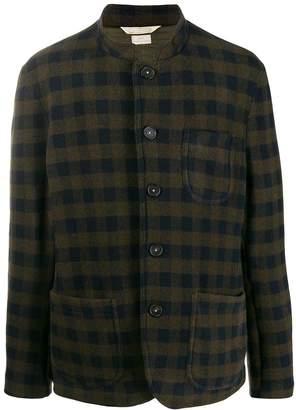 Massimo Alba check-print knit jacket