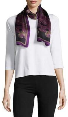 Lauren Ralph Lauren Oana Printed Silk Scarf