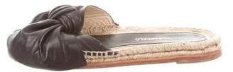 Paloma Barceló Paloma Berceló Leather Espadrille Sandals