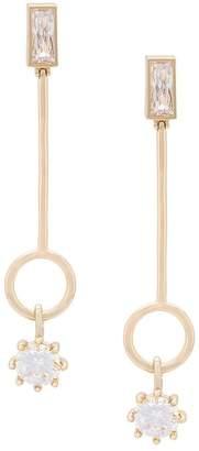 Eddie Borgo Baguette Estate Line earrings