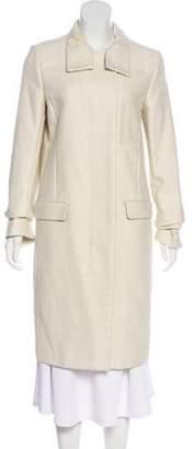 Helmut Lang Textured Long Coat