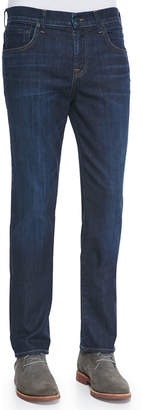 7 For All Mankind Straight-Leg Luxe Denim Jeans