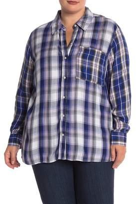 Joe Fresh Plaid Mix Shirt