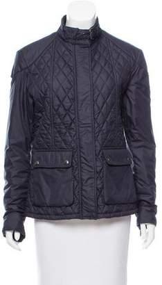 Belstaff Quilted Zip-Up Jacket