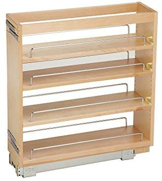 Rev-A-Shelf - 448-BC-6C - 6.5 in. Pull-Out Wood Base Cabinet Organizer