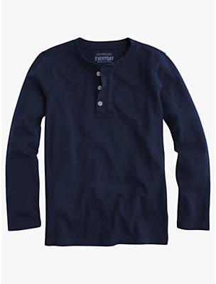 J.Crew crewcuts by Boys' Jersey Henley Slub T-Shirt