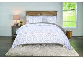 Better Homes & Gardens Sausalito Neutral Embroidery Quilt