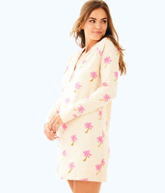 Lilly Pulitzer Womens UPF 50+ Hooded Skipper Popover Dress