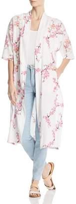 Billy T Lightweight Cherry Blossom Duster Jacket