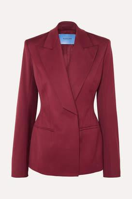 Thierry Mugler Wool-blend Twill Blazer - Red