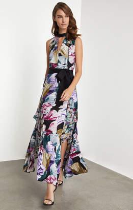 BCBGMAXAZRIA Floral Festive Maxi Dress