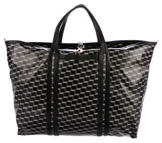 Pierre Hardy Leather-Trimmed Polycube Bag