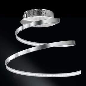 Spiralförmige LED-Deckenleuchte Laval