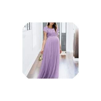 7c9bf587ccc09 Bobbleheads Sagton Womens Maternity Maxi Dress Lace Pregnants Dress  Maternity Photography Props