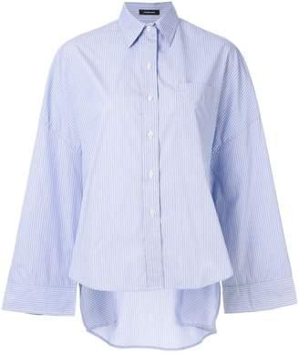 R 13 oversized pinstripe shirt