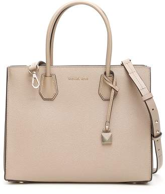 eb7244a96a68d4 MICHAEL Michael Kors Beige Double Handle Handbags - ShopStyle