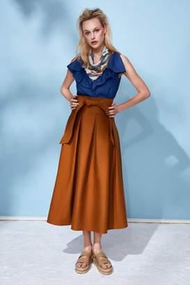 Hunter Bell New York Alexis Camel Skirt