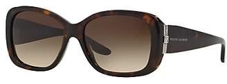 Ralph Lauren RL8127B Rectangular Sunglasses, Dark Havana