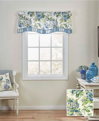Waverly Ellery Homestyles Floral Engagement Floral Window Valance