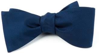 The Tie Bar TheTieBar 100% Woven Silk GrosGrain Solid Self-Tie Bow Tie