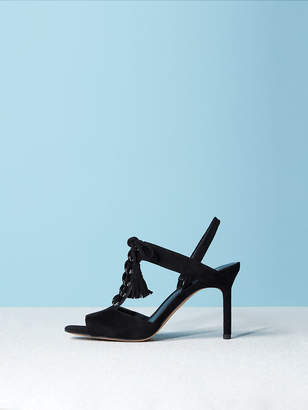 Diane von Furstenberg The Arabella Suede Sandal