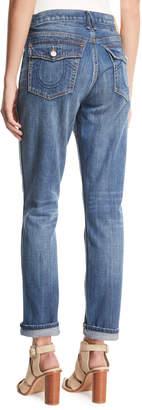 True Religion Cameron Straight-Leg Boyfriend Jeans