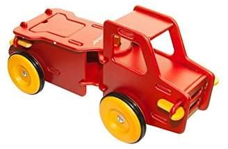 Moover Wooden Dump Truck - Red