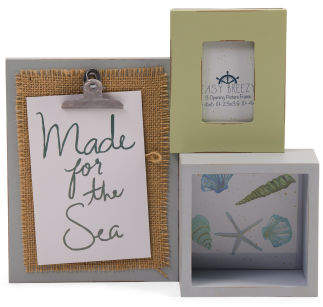 3 Opening Wood Collage Frame
