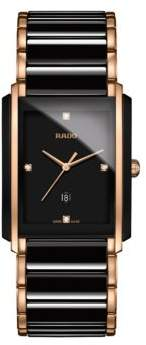 Rado Integral Diamond Studded Analog Bracelet Watch