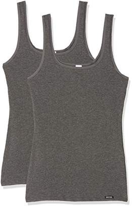 Skiny Women's Advantage Cotton Tank Top DP Vest,Pack of 2