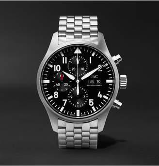 IWC SCHAFFHAUSEN Pilot's Chronograph 43mm Stainless Steel Watch