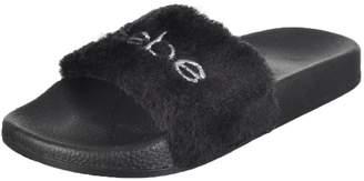 Bebe Girls' Slide Sandals