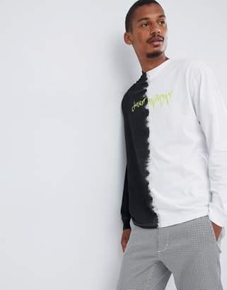 Cheap Monday Acid Wash Droop Logo T-Shirt