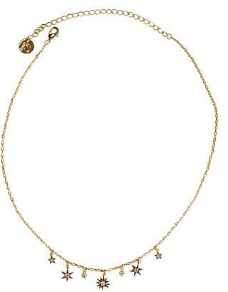"""Jules Smith Designs Star Bright Choker Necklace, 12"""""""