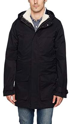 Original Penguin Men's Parka with Removable Vest