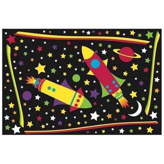 Helps Teas Outer Space Area Rug