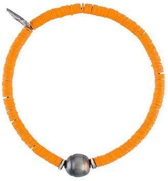 M. Cohen sibyl pearl & disk-bead bracelet