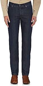 Marco Pescarolo Men's Slim Jeans-Dk. Blue